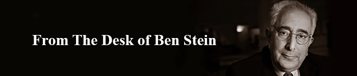 From The Desk of Ben Stein