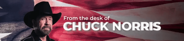 From the desk of Chuck Norris
